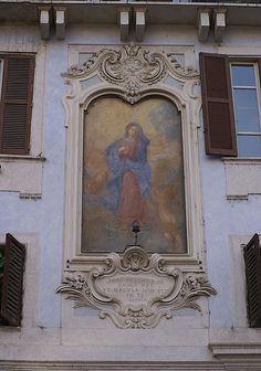 Rom, Piazza della Rotonda, Madonna