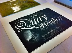 Everyone who gets a ticket to our July 31 visit from the legendary Quay Brothers will get this free limited edition print designed by the Wex's Chris Jones and printed at Logan Elm Press. Tickets moving.