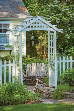 The gardens at this Northern MIchigan bed and breakfast are worth a visit. Stunning!