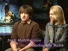 Josh Hutcherson and AnnaSophia Robb Kiss | ... Bridge to Terabithia - AnnaSophia Robb & Josh Hutcherson 6th