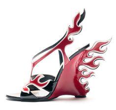 Prada Heels   Cartoon High Heels