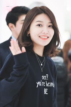 Choi Soo-young at AmieMarket on February 2018 - スヨン (少女時代) - Wikipedia Girls Generation, Korean Girl, Asian Girl, Sooyoung Snsd, Taeyeon Jessica, Asian Short Hair, Kpop Girls, Sport Outfits, Short Hair Styles