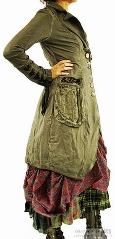 Elisa Cavaletti - reminds me of clothes from Les Mis Mori Fashion, Womens Fashion, Gypsy Fashion, 80s Fashion, Mode Style, Style Me, Mode Mori, Ropa Shabby Chic, Style Nomade