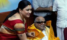 Actress Khushboo quits DMK !