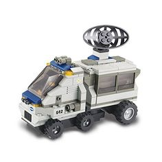 Sluban Building and Construction Blocks M38B0198 Support Radar Van Building Block Construction Set 198 Piece *** Check this awesome product by going to the link at the image.