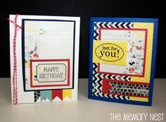 DIY - Birthday Cards!
