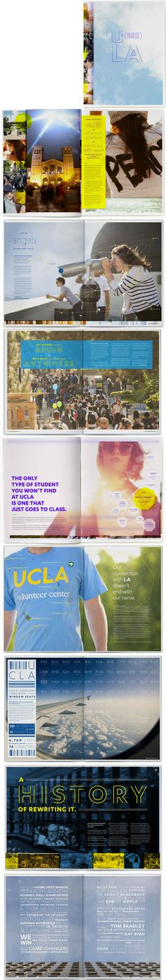 UCLA viewbook by 160over90