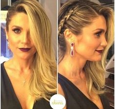 Ideas Hairstyles Semirecogido Liso For 2019 Ideas Hairstyles Semirecogid. - Ideas Hairstyles Semirecogido Liso For 2019 Ideas Hairstyles Semirecogido Liso For 2019 - Fancy Hairstyles, Braided Hairstyles, Wedding Hairstyles, Bridesmaid Hair, Prom Hair, Wedding Hair And Makeup, Hair Makeup, Hair Wedding, Hair Dos