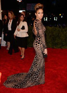 Jennifer Lopez rocked Michael Kors at the Met Gala... Favorite dress of the evening by far! ❤