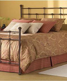 @Overstock - Complete your bedroom collection with this Stanley king-size bed  Bed features virtually indestructible powder-coated finish  King-size bed is a true heirloom piecehttp://www.overstock.com/Home-Garden/Stanley-King-size-Bed/2656279/product.html?CID=214117 $373.99