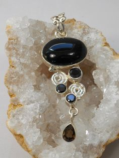 Handmade Colorful Onyx Beads Sterling Silver Overlay 15 Grams Earring 2.5 Indian Jewelry