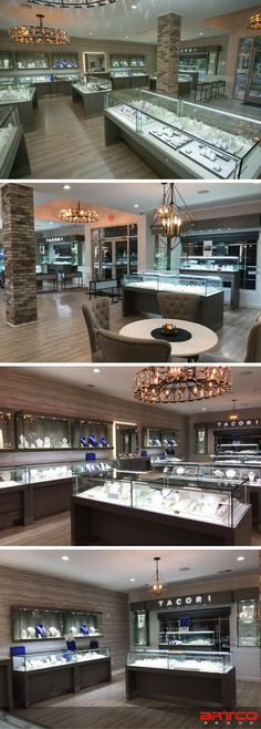 Baribault Jewelers.  Manufacture & Design of Store Fixtures by Artco Group.  #retaildesign  #storedesign  #Jewelers #jewelry  #retaildisplay