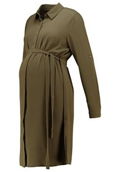 Skjortklänning - dark khaki