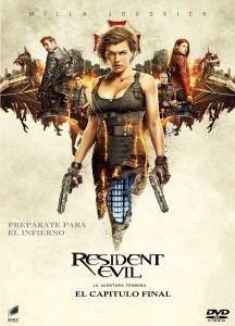 Resident Evil. El Capítulo Final(Resident Evil: The Final Chapter,2017) Vista el10-jun-17