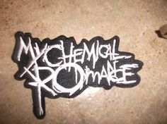My Chemical Romance - Rock Patch Music Band Patch Badge iron on sew on embroidered ** Free ship to worldwide ! on Etsy, Sold