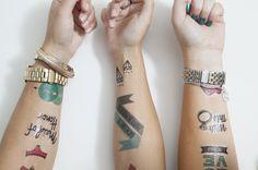 DIY Bachelorette Party tattoos