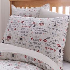 Cross Stitch Duvet Cover Bedding Quilt Set And Pillowcase Single Double King Sew in Home, Furniture & DIY, Bedding, Other Bedding | eBay