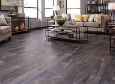 10mm Boardwalk Oak – Laminate Flooring – Durable for laundry room, mud room, and finished basement