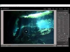 Lightroom CC 2015 Local Adjustments for Underwater Photography - YouTube