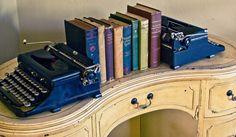 Decoración retro con máquinas de escribir. BricoDecoracion.com