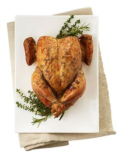 Classic Roast Chicken Prep time: 10 minutes  Cooking time: 90 minutes  1 (3½-to-4-lb) chicken  ½ tsp kosher salt  ¼ tsp freshly ground black pepper  Flavor mixture of your choice  2 Tbsp melted unsalted butter, for basting