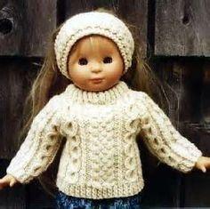Free Knitting Patterns for Dolls - Bing Images
