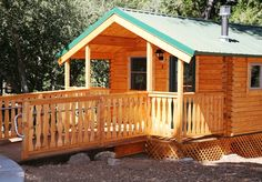 Cabin camping at William Heise County Park. To make camping reservations visit www.sdparks.org.