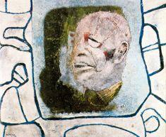 Rufino Tamayo - Retrato de Dubuffet