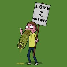 I really wouldn't want to be possessed by an alien parasite. Especially one that leaves you via your mouth. Adult Cartoons, Disney Cartoons, Justin Roiland, Dan Harmon, Get Schwifty, Image Fun, Comic Pictures, Geek Art, Geek Culture
