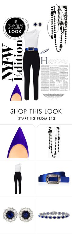 """NYFW: What to Pack?!"" by campanellinoo on Polyvore featuring Roland Mouret, Roger Vivier and Tiffany & Co."