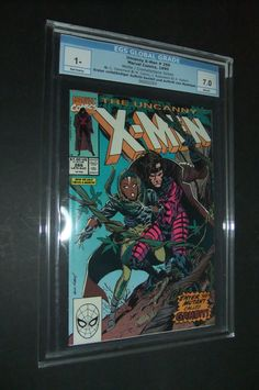 The Uncanny X-Men CGC Certified Full Appearance of Gambit! Comic 8, Comic Books, Lee Movie, Life Comics, The Uncanny, White Pages, Channing Tatum, Geek Gifts, X Men