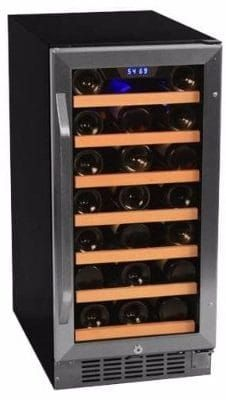 6 Edgestar Cwr301sz 15 Inch Wide 30 Bottle Built In Wine Cooler Built In Wine Cooler Best Wine Coolers Wine Cooler