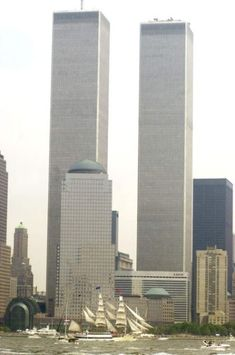 Twin Towers Before Collapse & After