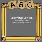 Great for initial teaching of letter formation and phonics; literacy centers; ESL; homework, and homeschooling.  There is a page for each letter. T...