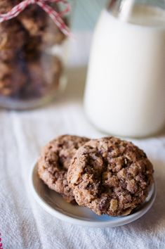 Oatmeal Chocolate Chip Lactation Cookies #oatmeal #chocolate #lactation #cookies #chocolatechip