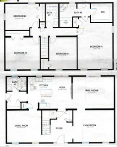 Marvelous House Plans Two Story