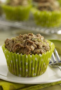 Avocado muffin - a quick, easy to make snack that's perfect for any time of day.