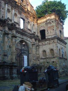 Panama City, Panama....old Spanish ruins