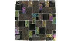 Elida Ceramica   THT04   Slate   Tile > Glass Tile