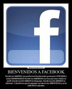 carteles facebook facebook falsedad falsos gentuza amores ex-amores ex-amigos enemigos amigos desmotivaciones