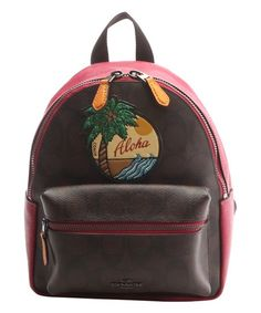 Autumn Fashion Printing Canvas Backpack Eye-Catching Teenagers Casual Daypack