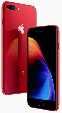 Apple Debuts (Product) Red Special Edition iPhone 8 and iPhone 8 Plus