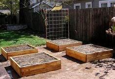 Garden Boxes by Easy Gardeners #garden #gardenides #planters #planterbox #plants #veggies #outdoor #outdoorideas #outdoorgarden #homedecor #farmhouse #affiliate