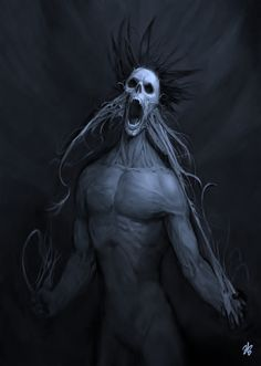 I love Art ,Horror and other nice things. Sick Drawings, Dark Art Drawings, Gothic Fantasy Art, High Fantasy, Dark Creatures, Fantasy Creatures, Horror Movie Characters, Fantasy Characters, Arte Horror