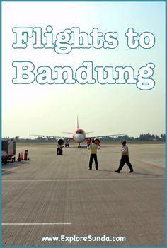 #FlightsToBandung | Three International Airports Near #Bandung | Which #BandungAirport will you choose? | #ExploreSunda.com International Flights, International Airport, Forest Scenery, Domestic Flights, Top Destinations, Airports, Day Trips, Travel Guide, Explore