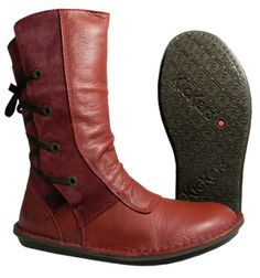 Botte rouge kickers