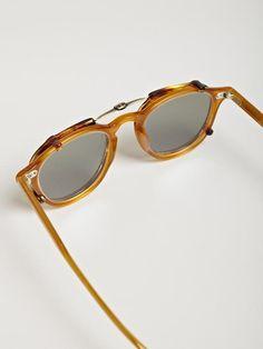 a324d86d610c4 Garrett Leight California Optical Men s Hampton Butterscotch Brown Polar  Sunglasses Polarized Sunglasses