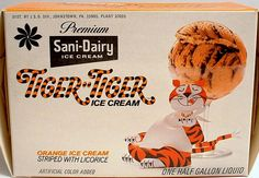 1960s. Orange and LICORICE??? Could that sound any grosser? Has anyone ever eaten this?