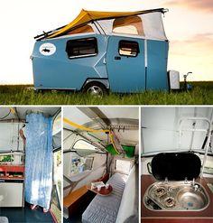 NASA-designed cricket trailer... cross country road trip?