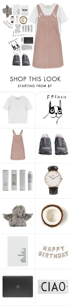 """That is the worst thing some one can say"" by joycereina ❤ liked on Polyvore featuring Acne Studios, House by John Lewis, Topshop, New Balance, Korres, Daniel Wellington, Chanel, Universal Lighting and Decor, philosophy and Incase"